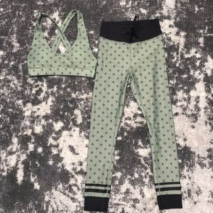 Gymshark Pants & Jumpsuits - SET: Sarah's Day Whitefox Boutique Jasmine Olive